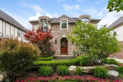 Rochester MI Single Family Home For Sale: $849,000