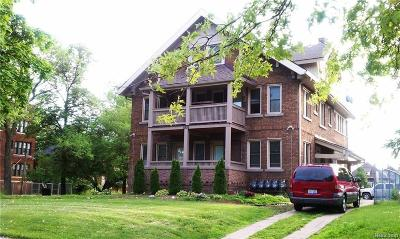 Detroit Multi Family Home For Sale: 1905 W Grand Boulevard