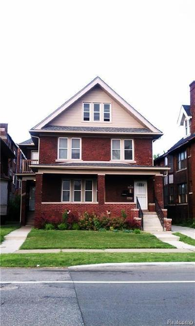 Detroit Multi Family Home For Sale: 1660 W Grand Boulevard