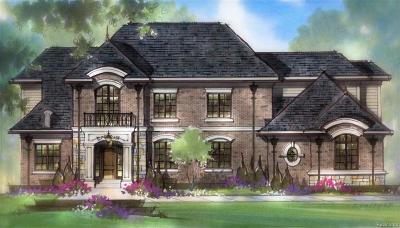 Bloomfield, Bloomfield Hills, Bloomfield Twp, West Bloomfield, West Bloomfield Twp Single Family Home For Sale: 4062 Overlea Lane