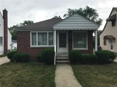 Oakland County, Macomb County, Wayne County Single Family Home For Sale: 24071 Chicago Street
