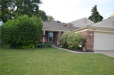 Canton, Canton Twp Single Family Home For Sale: 7950 Charrington Drive
