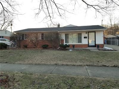 Westland Single Family Home For Sale: 320 S Dobson Street