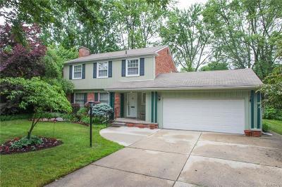 Birmingham Single Family Home For Sale: 1054 Saxon Drive