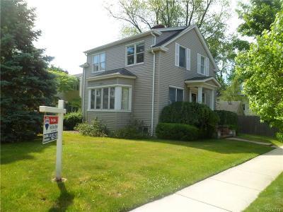 Birmingham Single Family Home For Sale: 691 Oak Avenue