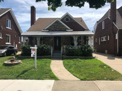 Dearborn MI Single Family Home For Sale: $219,900