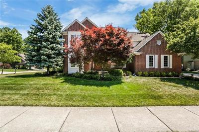 Rochester, Rochester Hills Single Family Home For Sale: 2693 Forest View Court