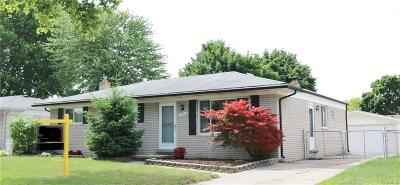 Sterling Heights MI Single Family Home For Sale: $192,000