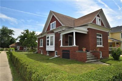 Wyandotte Single Family Home For Sale: 603 Pine Street