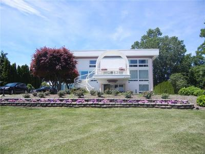 Allen Park, Lincoln Park, Southgate, Wyandotte, Taylor, Riverview, Brownstown Twp, Trenton, Woodhaven, Rockwood, Flat Rock, Grosse Ile Twp, Dearborn, Gibraltar Single Family Home For Sale: 21630 East River Road