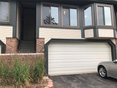 Northville MI Condo/Townhouse For Sale: $223,000