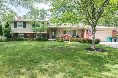 Farmington Hills Single Family Home For Sale: 32314 Craftsbury Road
