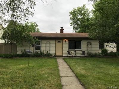 Farmington Hills Single Family Home For Sale: 22480 Tulane Avenue