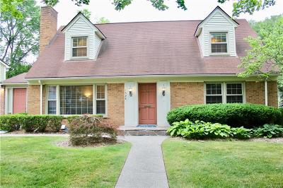 Birmingham Single Family Home For Sale: 1628 Latham Street