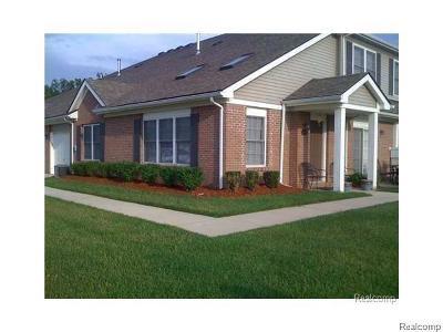 Belleville, Belleville-vanbure, Van Buren, Van Buren Twp Condo/Townhouse For Sale: 42245 Hanover Hanover Drive
