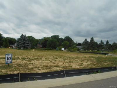 Commerce Twp Residential Lots & Land For Sale: 4108 Inverrary Court