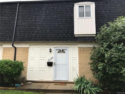 Belleville, Belleville-vanbure, Van Buren, Van Buren Twp Condo/Townhouse For Sale: 41155 S Woodbury Green Drive
