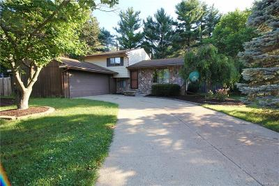 Commerce Single Family Home For Sale: 9430 Newton Place Road