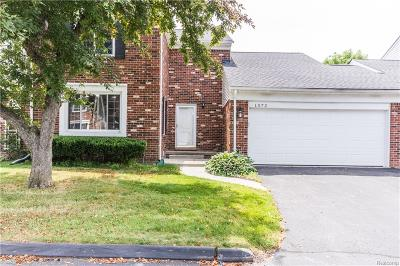 Bloomfield Twp Condo/Townhouse For Sale: 1572 Georgetown Pl