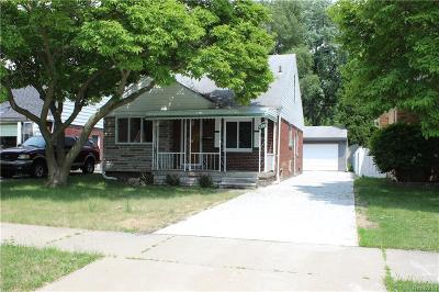 Dearborn Single Family Home For Sale: 3623 Merrick