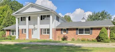 Oxford Single Family Home For Sale: 1372 W Drahner Road