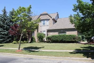 Canton, Canton Twp Single Family Home For Sale: 1200 Crowndale Lane