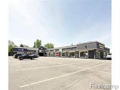 Oakland County Commercial Lease For Lease: 9135 Highland Road