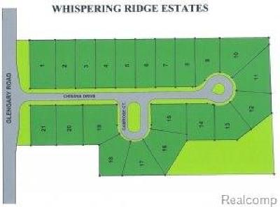 Commerce Twp Residential Lots & Land For Sale: 1949 Glengary Road