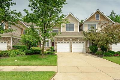 Novi Condo/Townhouse For Sale: 24906 Reeds Pointe Drive