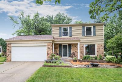 Rochester Hills Single Family Home For Sale: 301 Dalton Drive