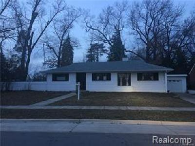 Dearborn Single Family Home For Sale: 22722 Nash Street