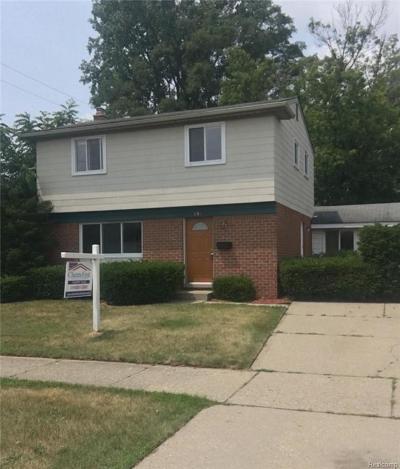Westland Single Family Home For Sale: 631 N Wildwood Street