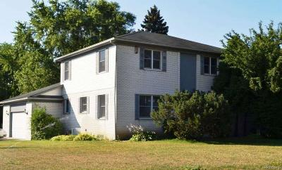 Shelby Twp MI Single Family Home For Sale: $289,000