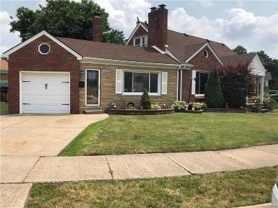 Dearborn Single Family Home For Sale: 4250 Seymour St Street