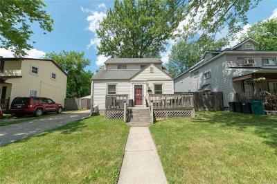 Berkley Single Family Home For Sale: 3577 Ellwood Avenue