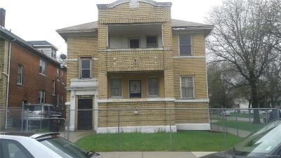 Detroit MI Multi Family Home For Sale: $180,000