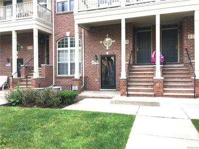 Walled Lake Condo/Townhouse For Sale: 416 Old Pine Way