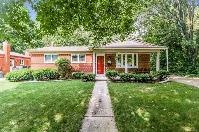 Farmington, Farmington Hills Single Family Home For Sale: 23217 Cora Avenue