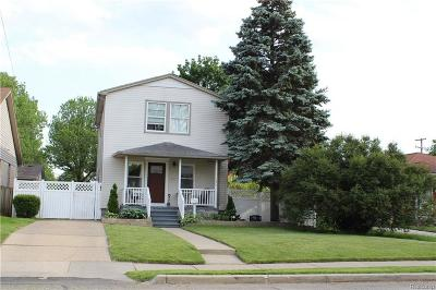 Wyandotte Single Family Home For Sale: 763 Clinton Street