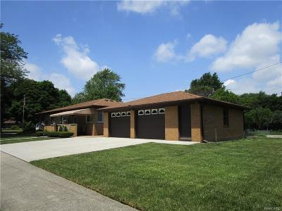 Allen Park Single Family Home For Sale: 10835 Reeck Road