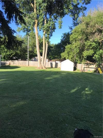 Novi Residential Lots & Land For Sale: 214 Monticello Street