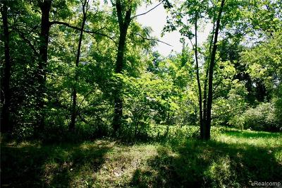 Hartland Twp MI Residential Lots & Land For Sale: $59,000