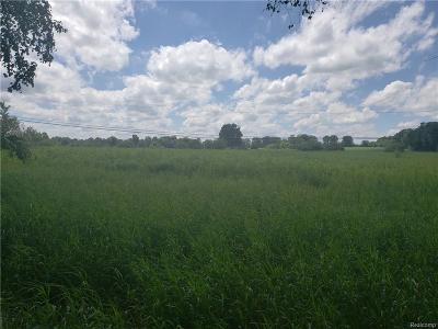 Addison Twp Residential Lots & Land For Sale: Leonard Rd