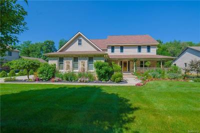 Commerce Twp Single Family Home For Sale: 4503 Treeline Court