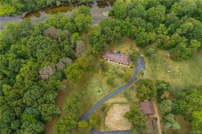Washtenaw County Single Family Home For Sale: 9357 Huron River Drive