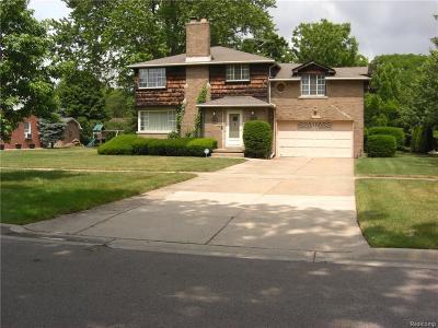 Trenton Single Family Home For Sale: 2278 Ruskin