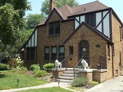 Huntington Woods Single Family Home For Sale: 25534 Wareham Drive