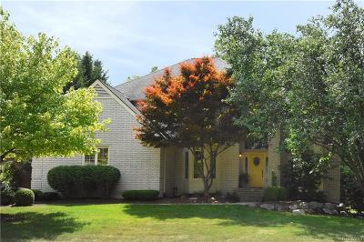 Farmington Hills Single Family Home For Sale: 37697 McKenzie Court