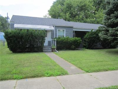 Taylor Single Family Home For Sale: 6732 Syracuse Street