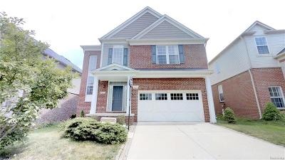 Novi MI Single Family Home For Sale: $449,900